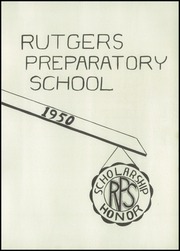 Page 7, 1950 Edition, Rutgers Preparatory School - Ye Dial Yearbook (New Brunswick, NJ) online yearbook collection