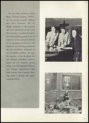Page 7, 1956 Edition, Villa Victoria Academy - Memories Yearbook (Trenton, NJ) online yearbook collection