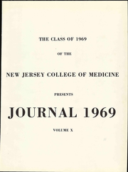 Page 5, 1969 Edition, New Jersey College of Medicine - Journal Yearbook (Jersey City, NJ) online yearbook collection