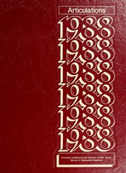 1988 Edition, UMDNJ School of Osteopathic Medicine - Articulations Yearbook (Stratford, NJ)