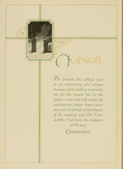 Page 8, 1927 Edition, Vanderbilt University - Commodore Yearbook (Nashville, TN) online yearbook collection