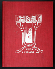 Page 1, 1907 Edition, Ripon College - Crimson Yearbook (Ripon, WI) online yearbook collection