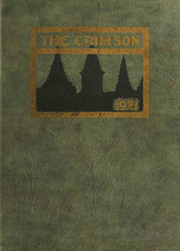 1921 Edition, Ripon College - Crimson Yearbook (Ripon, WI)