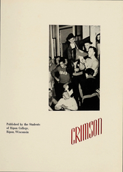 Page 4, 1941 Edition, Ripon College - Crimson Yearbook (Ripon, WI) online yearbook collection