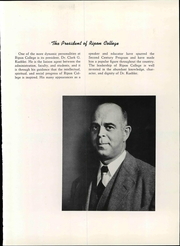 Page 11, 1949 Edition, Ripon College - Crimson Yearbook (Ripon, WI) online yearbook collection