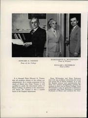 Page 12, 1949 Edition, Ripon College - Crimson Yearbook (Ripon, WI) online yearbook collection