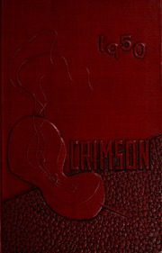 1950 Edition, Ripon College - Crimson Yearbook (Ripon, WI)