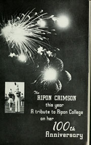 Page 5, 1951 Edition, Ripon College - Crimson Yearbook (Ripon, WI) online yearbook collection