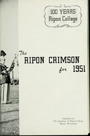 Page 7, 1951 Edition, Ripon College - Crimson Yearbook (Ripon, WI) online yearbook collection