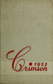 1952 Edition, Ripon College - Crimson Yearbook (Ripon, WI)