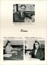 Page 12, 1958 Edition, University of Wisconsin La Crosse - La Crosse Yearbook (La Crosse, WI) online yearbook collection