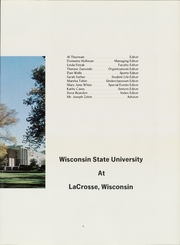 Page 7, 1968 Edition, University of Wisconsin La Crosse - La Crosse Yearbook (La Crosse, WI) online yearbook collection