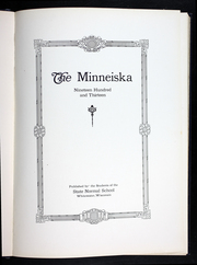 Page 9, 1913 Edition, University of Wisconsin Whitewater - Minneiska Yearbook (Whitewater, WI) online yearbook collection