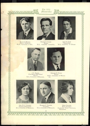 Page 26, 1932 Edition, University of Wisconsin Whitewater - Minneiska Yearbook (Whitewater, WI) online yearbook collection