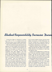 Page 14, 1944 Edition, University of Wisconsin Whitewater - Minneiska Yearbook (Whitewater, WI) online yearbook collection