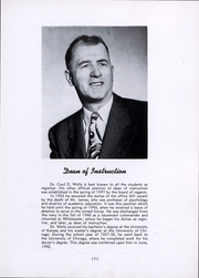 Page 10, 1948 Edition, University of Wisconsin Whitewater - Minneiska Yearbook (Whitewater, WI) online yearbook collection