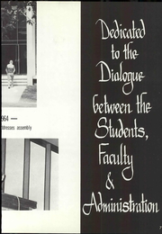 Page 11, 1965 Edition, Pacific University - Heart of Oak Yearbook (Forest Grove, OR) online yearbook collection