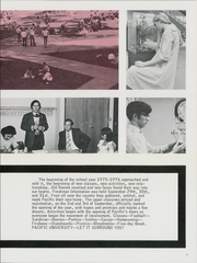 Page 9, 1976 Edition, Pacific University - Heart of Oak Yearbook (Forest Grove, OR) online yearbook collection