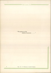 Page 12, 1934 Edition, Linfield College - Oak Leaves Yearbook (McMinnville, OR) online yearbook collection
