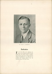 Page 9, 1934 Edition, Linfield College - Oak Leaves Yearbook (McMinnville, OR) online yearbook collection