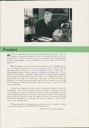Page 15, 1939 Edition, Linfield College - Oak Leaves Yearbook (McMinnville, OR) online yearbook collection