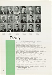 Page 16, 1939 Edition, Linfield College - Oak Leaves Yearbook (McMinnville, OR) online yearbook collection