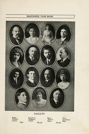 Page 9, 1914 Edition, McKendree University - McKendrean Yearbook (Lebanon, IL) online yearbook collection