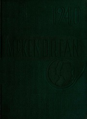 Page 1, 1940 Edition, McKendree University - McKendrean Yearbook (Lebanon, IL) online yearbook collection