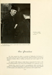 Page 15, 1951 Edition, McKendree University - McKendrean Yearbook (Lebanon, IL) online yearbook collection