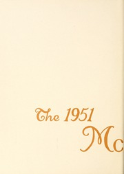 Page 8, 1951 Edition, McKendree University - McKendrean Yearbook (Lebanon, IL) online yearbook collection
