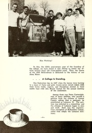 Page 10, 1953 Edition, McKendree University - McKendrean Yearbook (Lebanon, IL) online yearbook collection