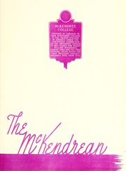 Page 5, 1953 Edition, McKendree University - McKendrean Yearbook (Lebanon, IL) online yearbook collection