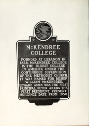 Page 6, 1957 Edition, McKendree University - McKendrean Yearbook (Lebanon, IL) online yearbook collection