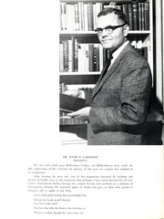 Page 10, 1960 Edition, McKendree University - McKendrean Yearbook (Lebanon, IL) online yearbook collection