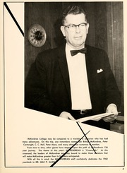 Page 9, 1962 Edition, McKendree University - McKendrean Yearbook (Lebanon, IL) online yearbook collection