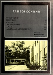 Page 5, 1975 Edition, McKendree University - McKendrean Yearbook (Lebanon, IL) online yearbook collection