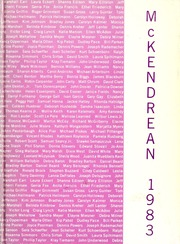 McKendree University - McKendrean Yearbook (Lebanon, IL) online yearbook collection, 1983 Edition, Page 1
