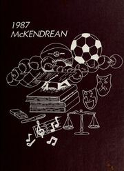 McKendree University - McKendrean Yearbook (Lebanon, IL) online yearbook collection, 1987 Edition, Page 1