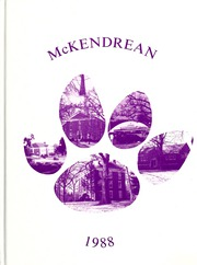 McKendree University - McKendrean Yearbook (Lebanon, IL) online yearbook collection, 1988 Edition, Page 1