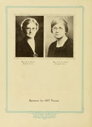 Page 14, 1927 Edition, East Carolina University - Buccaneer Tecoan Yearbook (Greenville, NC) online yearbook collection