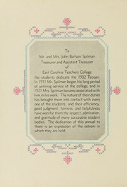 Page 12, 1932 Edition, East Carolina University - Buccaneer Tecoan Yearbook (Greenville, NC) online yearbook collection