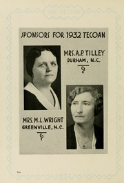 Page 14, 1932 Edition, East Carolina University - Buccaneer Tecoan Yearbook (Greenville, NC) online yearbook collection
