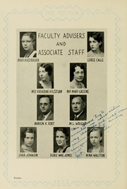 Page 16, 1932 Edition, East Carolina University - Buccaneer Tecoan Yearbook (Greenville, NC) online yearbook collection