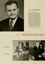 Page 14, 1947 Edition, East Carolina University - Buccaneer Tecoan Yearbook (Greenville, NC) online yearbook collection