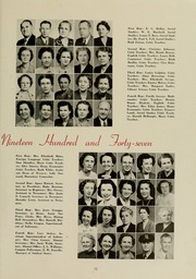 Page 17, 1947 Edition, East Carolina University - Buccaneer Tecoan Yearbook (Greenville, NC) online yearbook collection