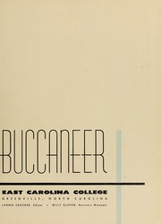 Page 7, 1956 Edition, East Carolina University - Buccaneer Tecoan Yearbook (Greenville, NC) online yearbook collection