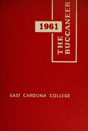 1961 Edition, East Carolina University - Buccaneer / Tecoan Yearbook (Greenville, NC)