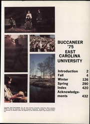 Page 7, 1975 Edition, East Carolina University - Buccaneer Tecoan Yearbook (Greenville, NC) online yearbook collection
