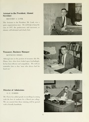 Page 15, 1957 Edition, Lycoming College - Arrow Yearbook (Williamsport, PA) online yearbook collection