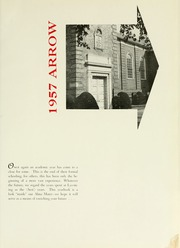Page 5, 1957 Edition, Lycoming College - Arrow Yearbook (Williamsport, PA) online yearbook collection